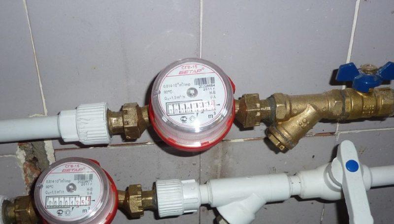 установить счетчики на воду в Москве