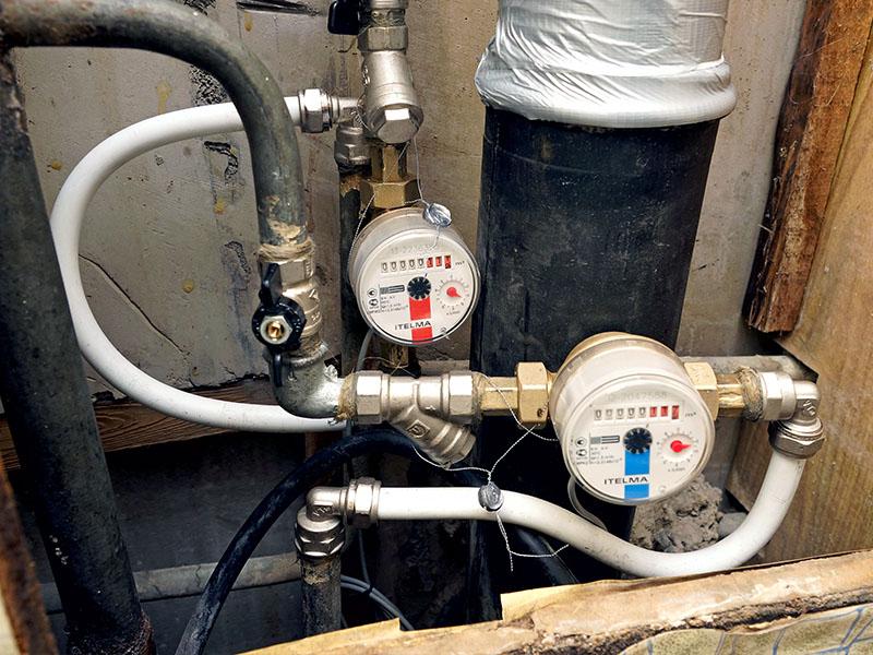 Замена счетчиков воды в Москве