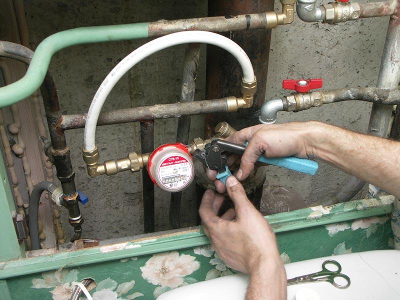 Акт ввода в эксплуатацию приборов учета воды