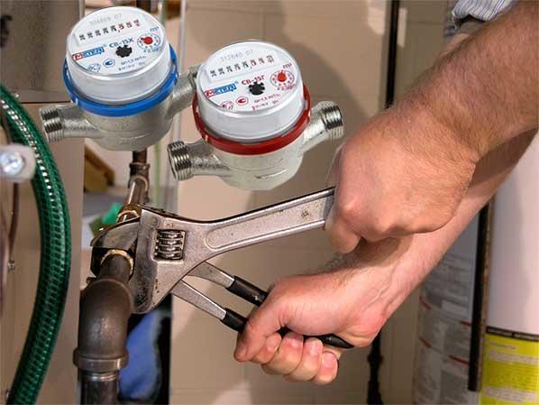 Установка счетчика воды после поверки