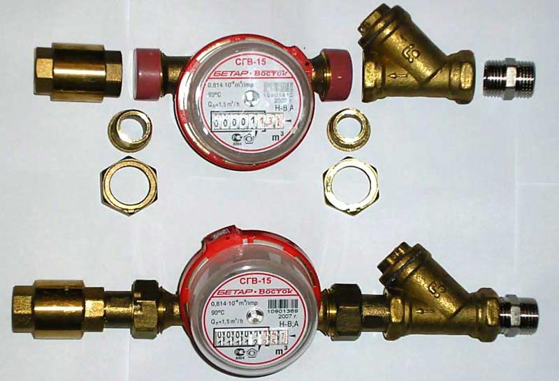 Обязателен ли обратный клапан при установке водосчетчиков