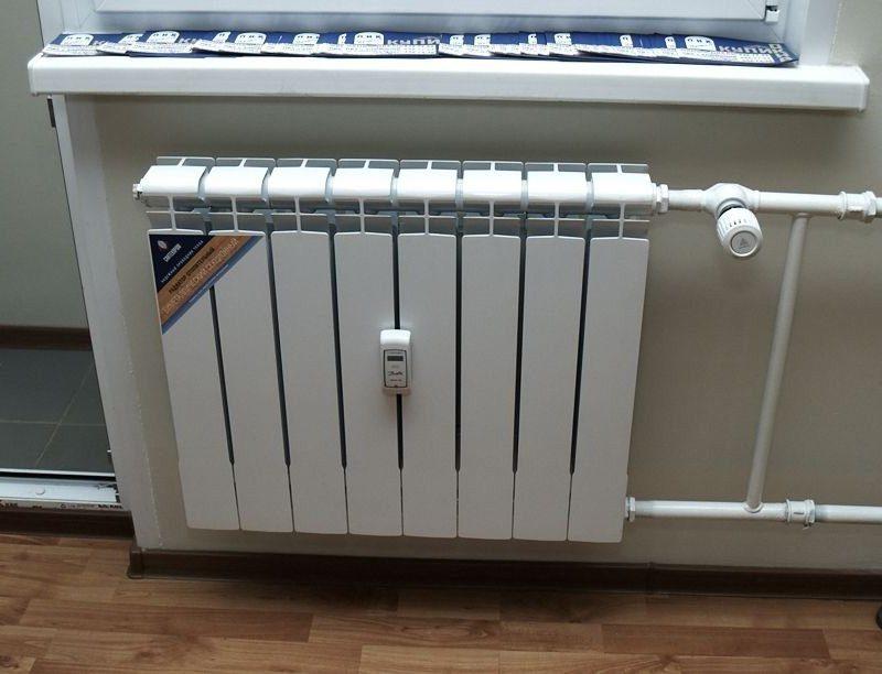 Теплосчетчик на радиаторе в квартире