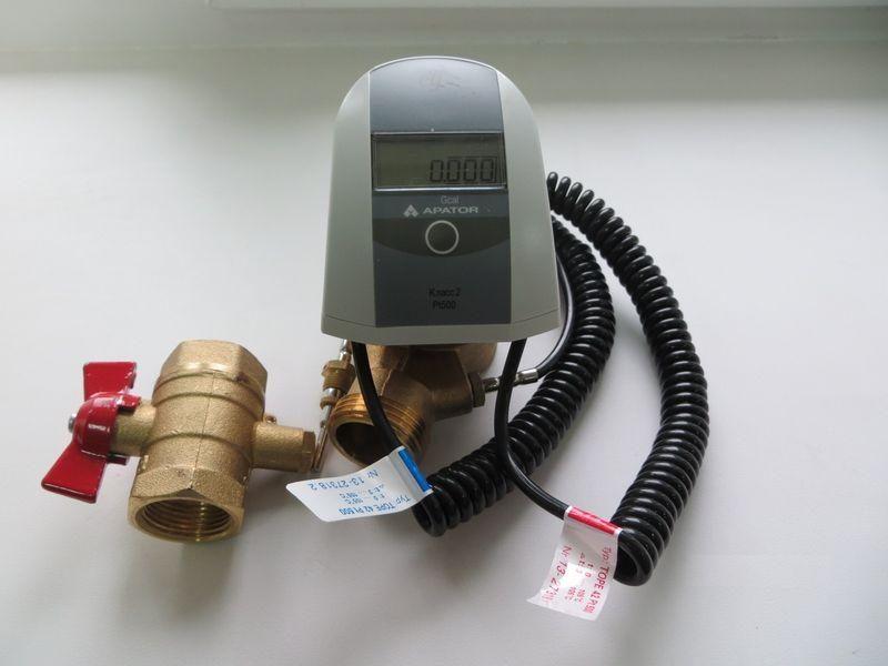 Счетчик тепла Apator обеспечивает высокую точность показаний