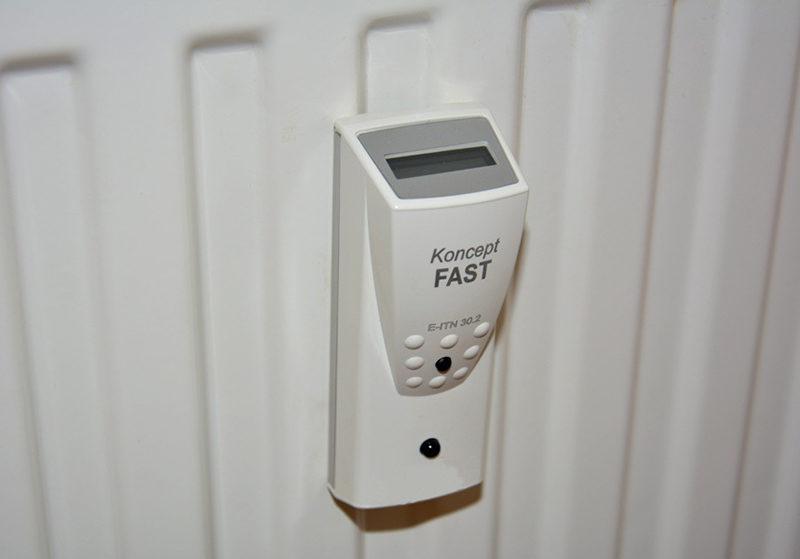 Счетчик на батарею отопления в квартире