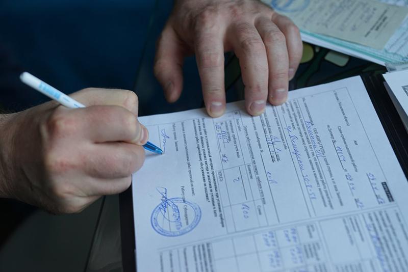 Результаты поверки должны быть зафиксированы официально