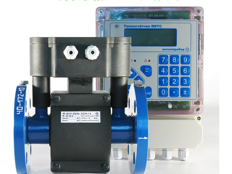 Теплосчетчик с измерительным модулем